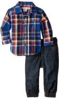 Ralph Lauren Denim Jogger Pants Set (Infant)
