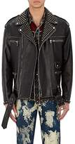 "Gucci Men's ""Blind For Love"" Oversized Biker Jacket"
