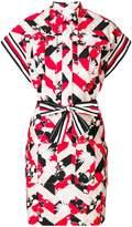 MAISON KITSUNÉ printed shirt dress