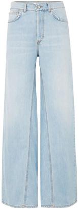 Ganni Sheldon High-rise Wide-leg Jeans