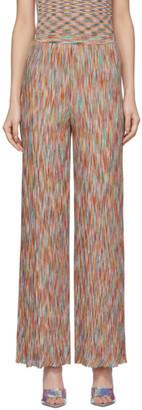 Missoni Multicolor Flared Stripe Lounge Pants