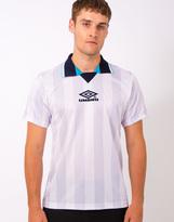 Umbro Pro Training E96 Tournament Jaquard T-Shirt White