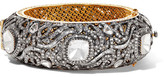 Amrapali 18-karat Gold, Silver And Diamond Bracelet - one size