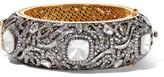 Amrapali 18-karat Gold, Silver And Diamond Bracelet