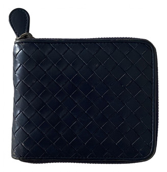 Bottega Veneta Blue Leather Small bags, wallets & cases