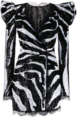 Amen embellished long sleeve dress