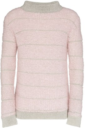 Eckhaus Latta Striped Knit Jumper