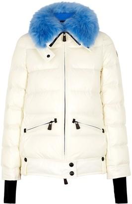 Moncler Grenoble Arabba fur-trimmed shell jacket
