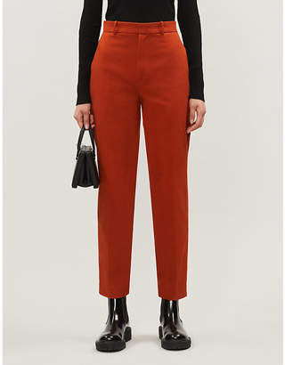 Joseph Coman stretch-cotton trousers