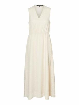 Vero Moda Women's Vmlykke S/l Ankle Dress WVN Ce