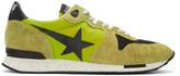 Golden Goose Deluxe Brand Green Running Sneakers