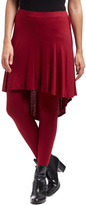 Bellino Burgundy Skirted Leggings