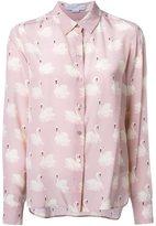 Stella McCartney swan print shirt