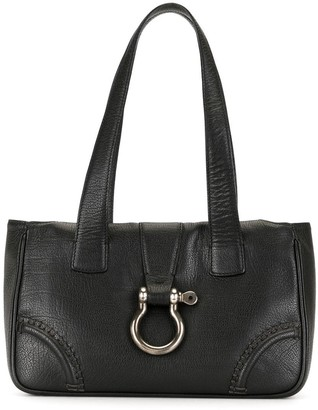 Burberry Pre-Owned Buckle Detail Tote Bag