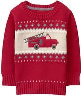 Gymboree Fire Truck Sweater