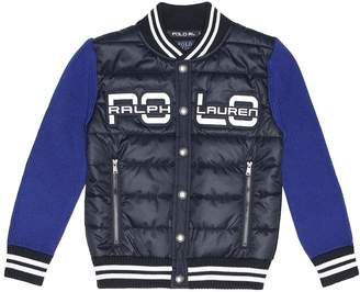 Polo Ralph Lauren Quilted cotton-blend jacket