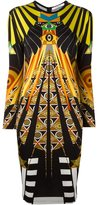 Givenchy Egyptian print dress - women - Silk/Spandex/Elastane/Acetate/Viscose - 36