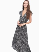 Splendid Fresian Floral Print Wrap Dress