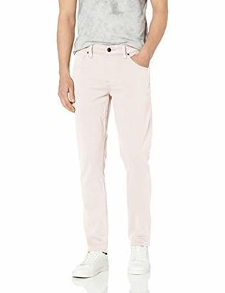 Hudson Men's Blake Slim Fit Straight Leg Zip Fly Twill Jean
