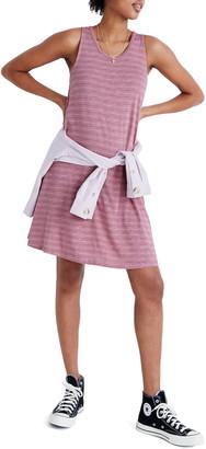 Madewell Highpoint Stripe Print Tank Dress