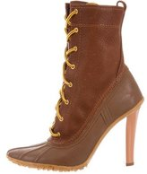 Casadei Rubber Ankle Boots