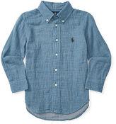 Ralph Lauren Double-Faced Cotton Shirt