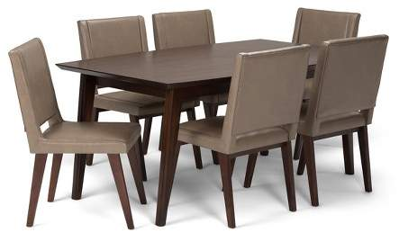 Remarkable Mid Century Dining Set Shopstyle Andrewgaddart Wooden Chair Designs For Living Room Andrewgaddartcom