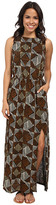 Lucky Brand Batik Dot Diamonds Dress