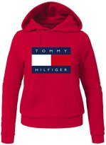 Tommy Hilfiger Printed For Ladies Womens Hoodies Sweatshirts Pullover Tops