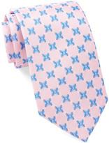 Tailorbyrd Ladybug Print Silk Tie
