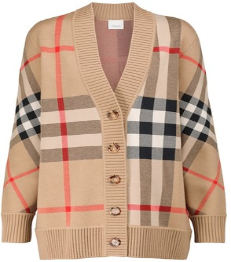 Burberry Vintage Check jacquard cardigan