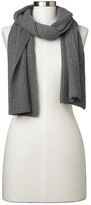 Gap Cashmere ribbed knit scarf