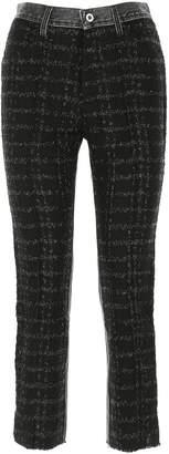 Diesel P-Gitte Cropped Jeans