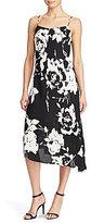 Lauren Ralph Lauren Floral-Print Crepe Slip Dress