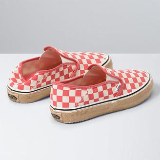 Vans Checkerboard Slip-On Espadrille SF
