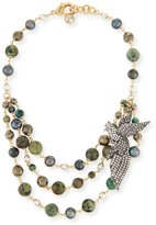 Lulu Frost Canopy Multi-Strand Statement Necklace
