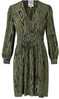 Baum und Pferdgarten Astrella Wood Grain Print Dress