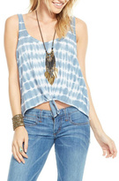 Chaser Front Knot Tie Dye Tank