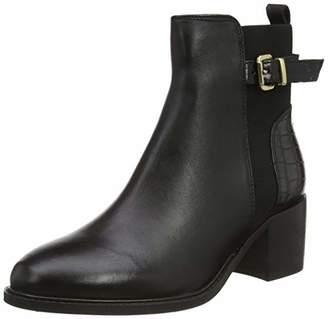 Dune London Dune Ladies Poetic Buckle Block Heel Ankle Boot Size UK 6