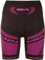 Misbhv branded stretch fit shorts