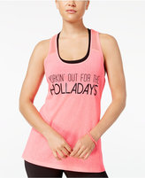 Material Girl Active Juniors' Graphic Tank Top, Only at Macy's
