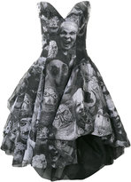 Vivienne Westwood printed puffball dress - women - Cotton - 40