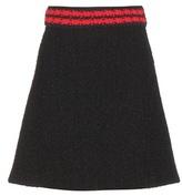 Gucci Bouclé miniskirt