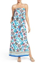 Tommy Bahama Women's Fira Strapless Cover-Up Dress