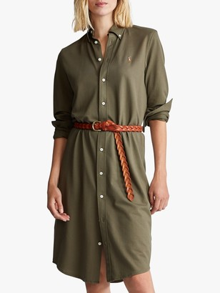 Ralph Lauren Polo Heidi Casual Dress, Defender Green
