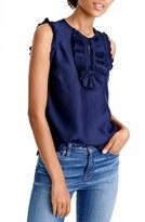 J.Crew Petite Women's 'Margot' Silk Top