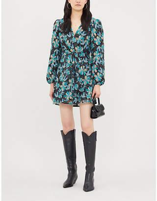Sandro Sequin-embellished lace dress