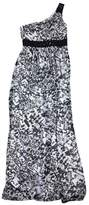 Max & Cleo Black & White One Shoulder Maxi Dress