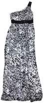 Max & Cleo Black & White One Shoulder Maxi Dress