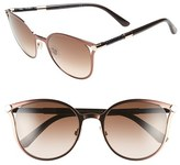 Jimmy Choo Women's 'Neizas' 54Mm Metal Sunglasses - Matte Black